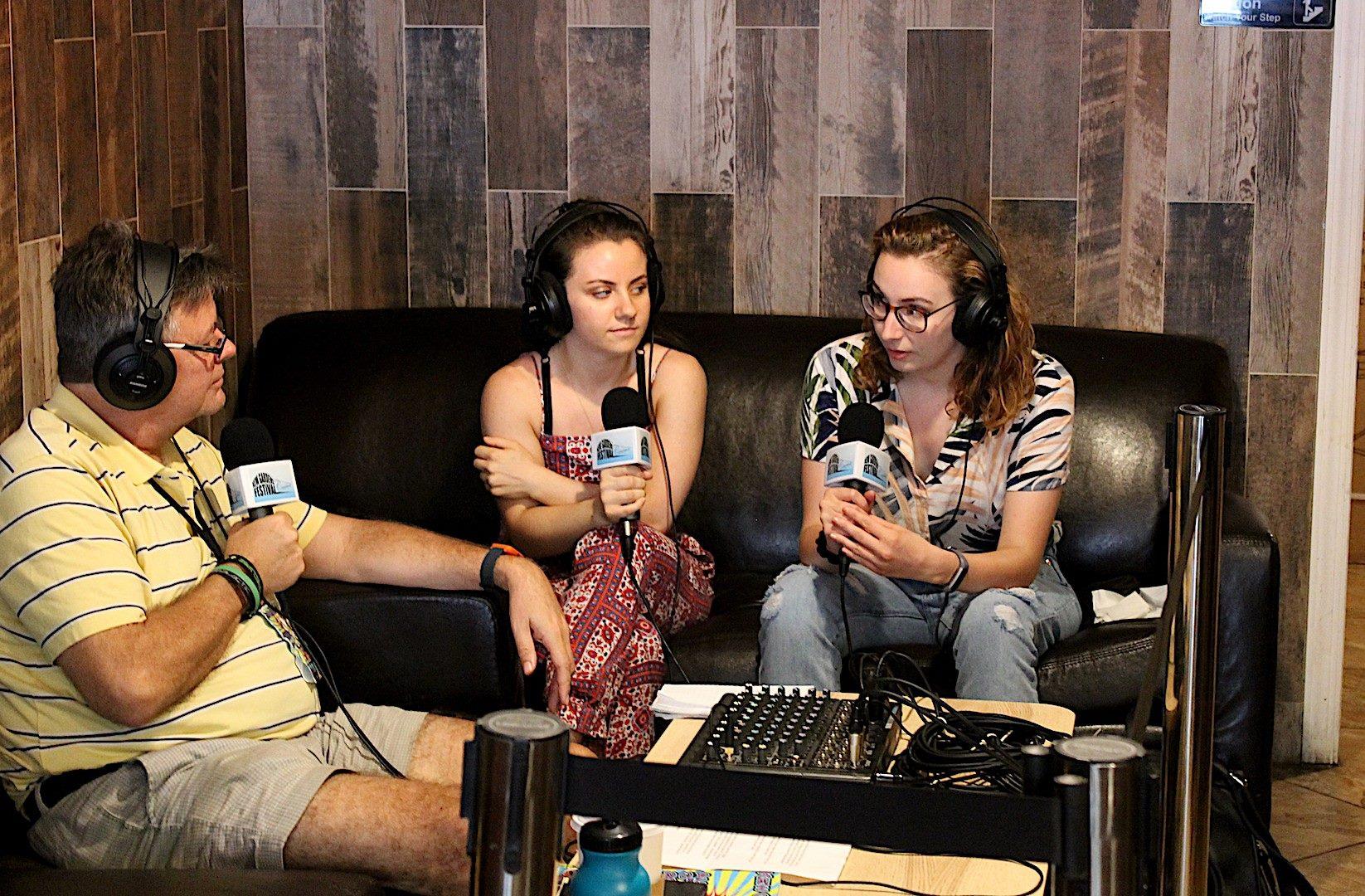 We were on the Kew Gardens Fest Talks podcast -