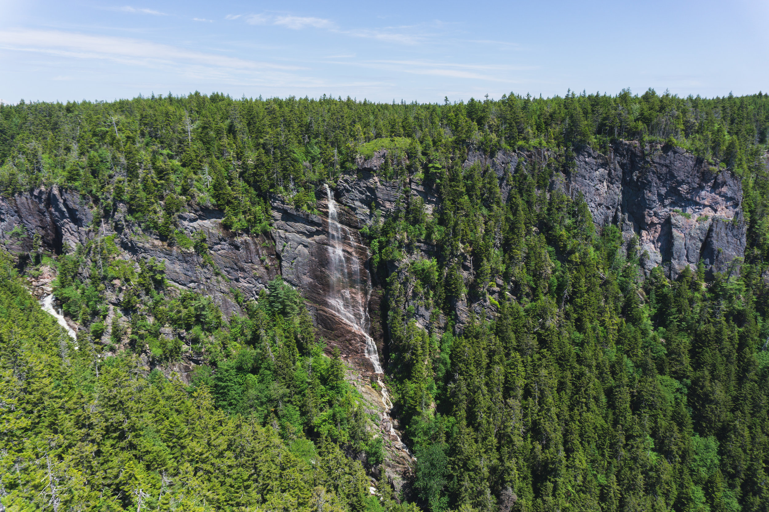 (This is the second highest waterfall in NB.)