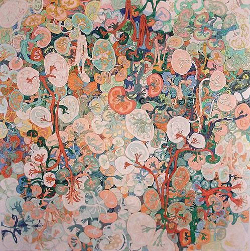 Beautiful artwork is by You Si 游思 based in Shanghai and I thought it the perfect expression of spring & kidney energies!