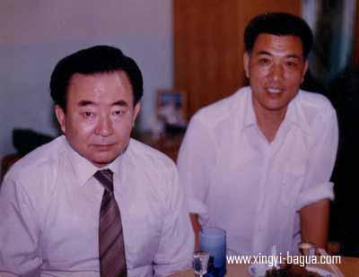 駱兴武得意弟子 马有清师叔(香港)与刘敬儒  Grand Master Luo Xing Wu's proud disciples: Master Ma You Qing (Hong Kong) and Master Liu Jing Ru.