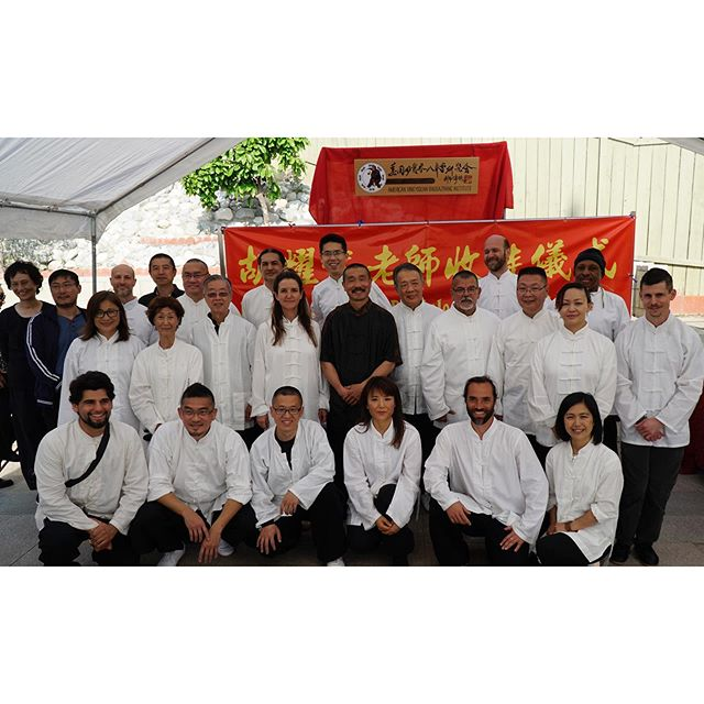 One last pic from the weekend's celebration. A big happy Kung Fu family!