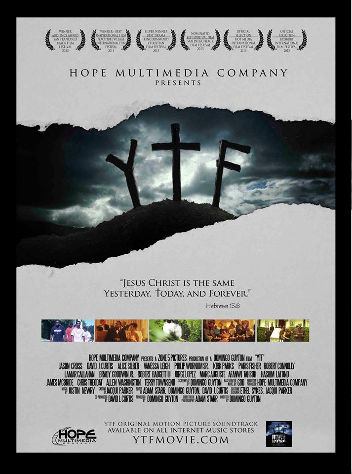YTF is about a modern Jesus Christ walking around today and His Disciples are hip hop artists. See how Jesus interacts with the social ills of today, and you will see His Word stands firm Yesterday, Today and Forever.