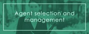 Agent selection & management