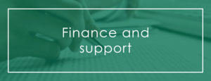 Finance and support