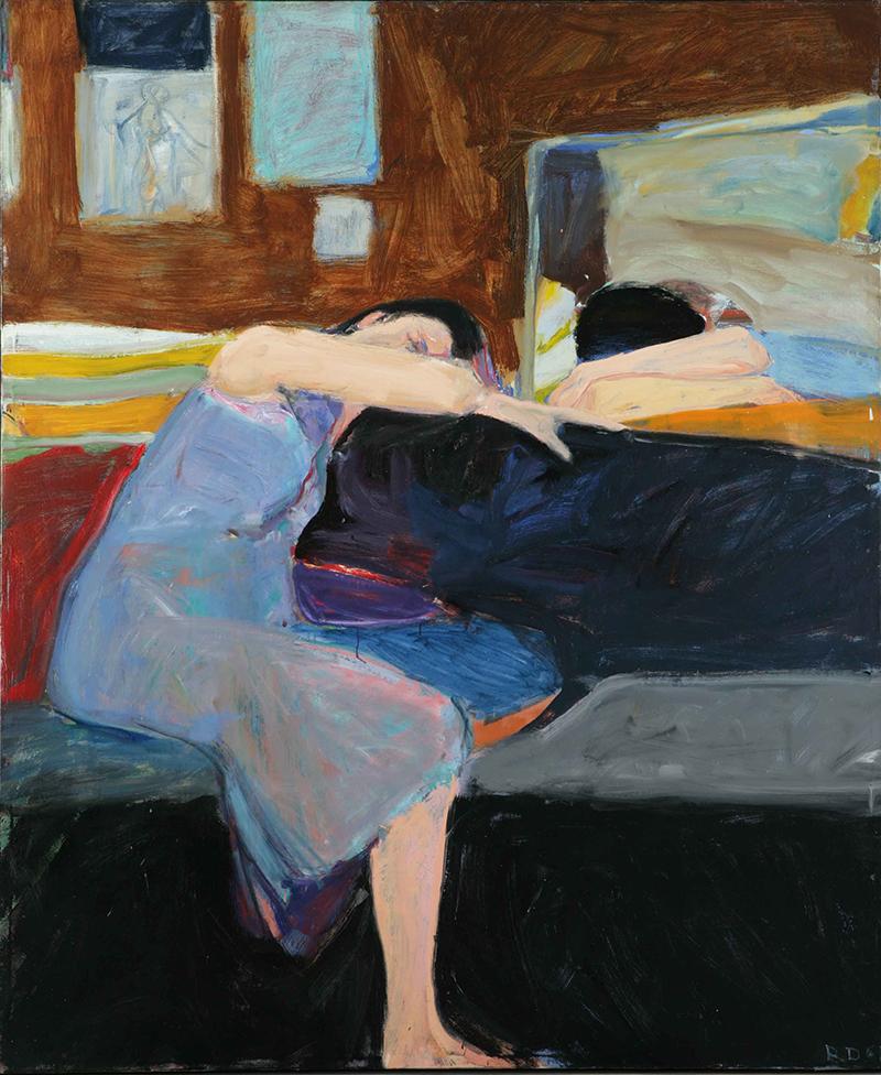 Richard Diebenkorn -    Sleeping Woman (1961)