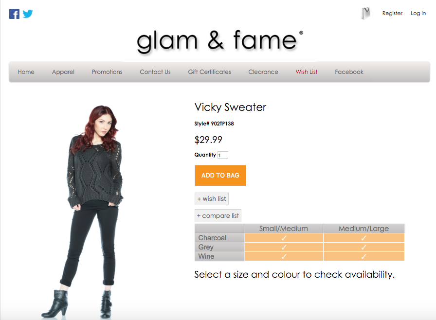 Glam & Fame Clothing