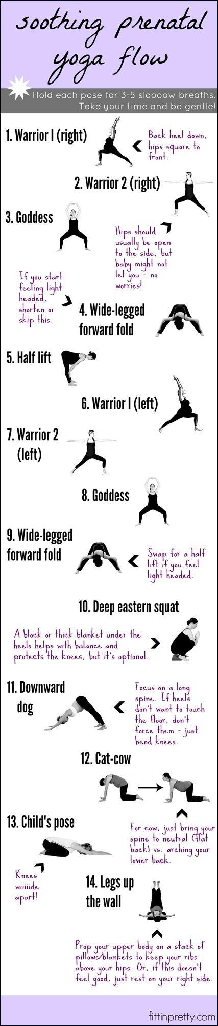 yoga moves for pregnancy