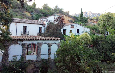 Can Serrat is a more lively mix of artists in the hills behind Barcelona