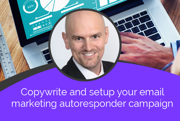 We Will Copywrite And Set Up Your Email Marketing Autoresponder Campaign
