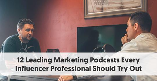 The Marketing Geeks Podcast is #1 on this list created by Influencer Hub Marketing