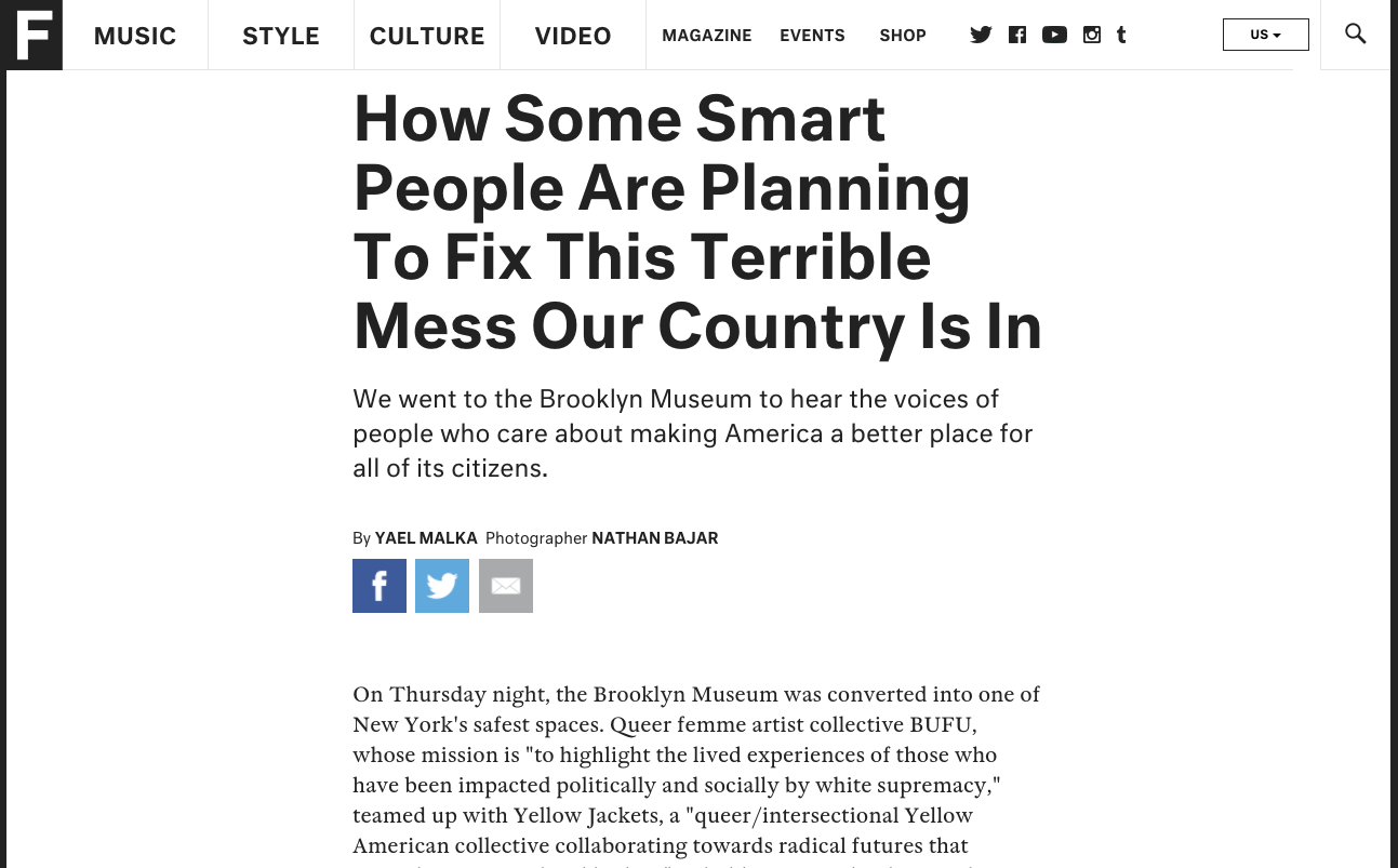 """""""How Some Smart People Are Planning To Fix This Terrible Mess Our Country Is In"""" by Fader"""