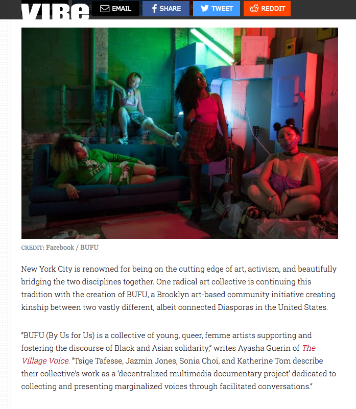 """""""BUFU is the Dopest NYC Art Collective You've Never Heard of"""" by the Vibe"""