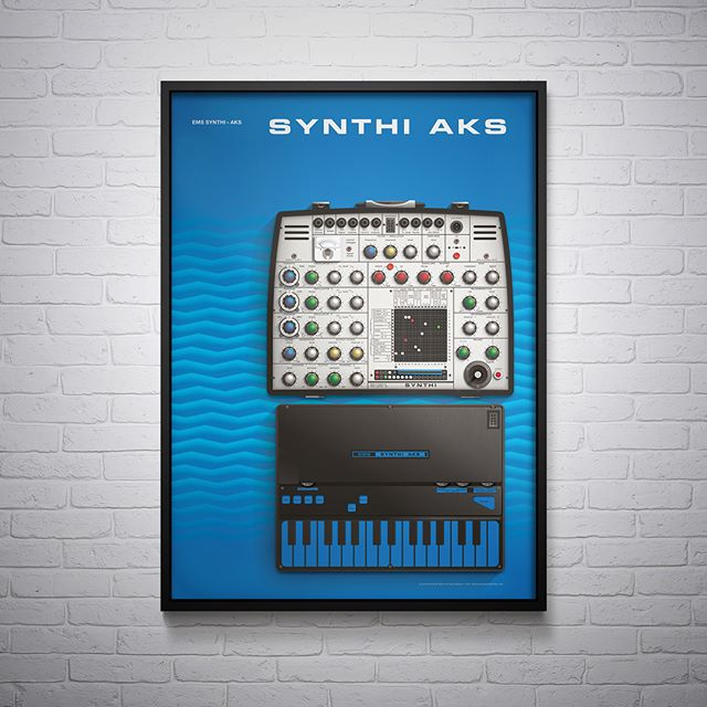 Limited edition Synthi AKS posters now available. Series 1 prints features three seminal EMS synthesisers. Buy individually or as a set of three. Follow the Link in Bio for more information. . . . . #synthi_aks #ems #synthi #music #musicproduction #electronicmusicstudio #limitededition #print #printforsale #poster #illustration #art #vintage #vintagesynth #analouge #voltagecontrol #synth #synthesizer #synthart #synthlovers #voltagecontrolart #betterhalfworkshop