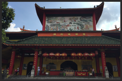 Today the children visited Shuang Lin Monastery that was founded in 1898. This temple has been designated as a heritage site in Singapore.