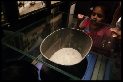 This tub was used to collect the night soil.