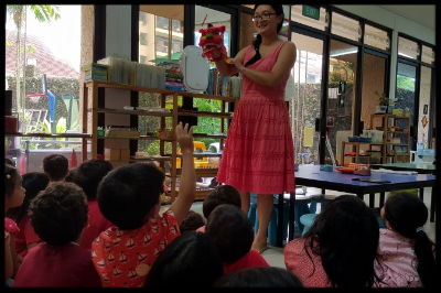 They learnt why the lion dance is performed during the Chinese New Year.