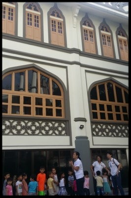 It was explained to the children that the mosque is a place where Muslims go to to pray. They follow the Islamic faith.