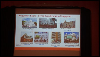 The children also learnt about the seven gurdwaras in Singapore.