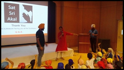 During the Q & A part, Ms. Hardeep asked the children some questions about what was previously discussed. The children showed excellent recall and those who remembered the answers were given sweets.