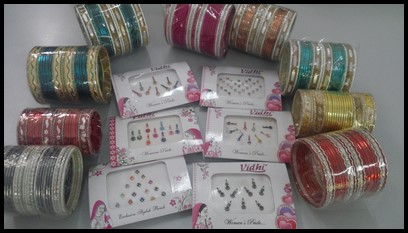 Bindis and bangles for everyone
