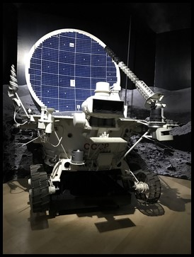 Lunokhod 2 was a vehicle that was sent to the moon to explore the lunar surface and return the information back to Earth.