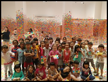 A fun-filled and memorable experience indeed at National Gallery