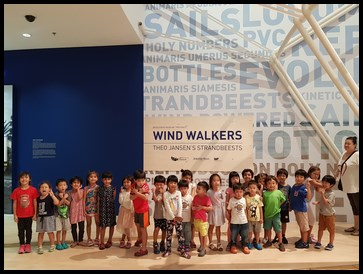 Everyone enjoyed the WIndwalkers exhibition.