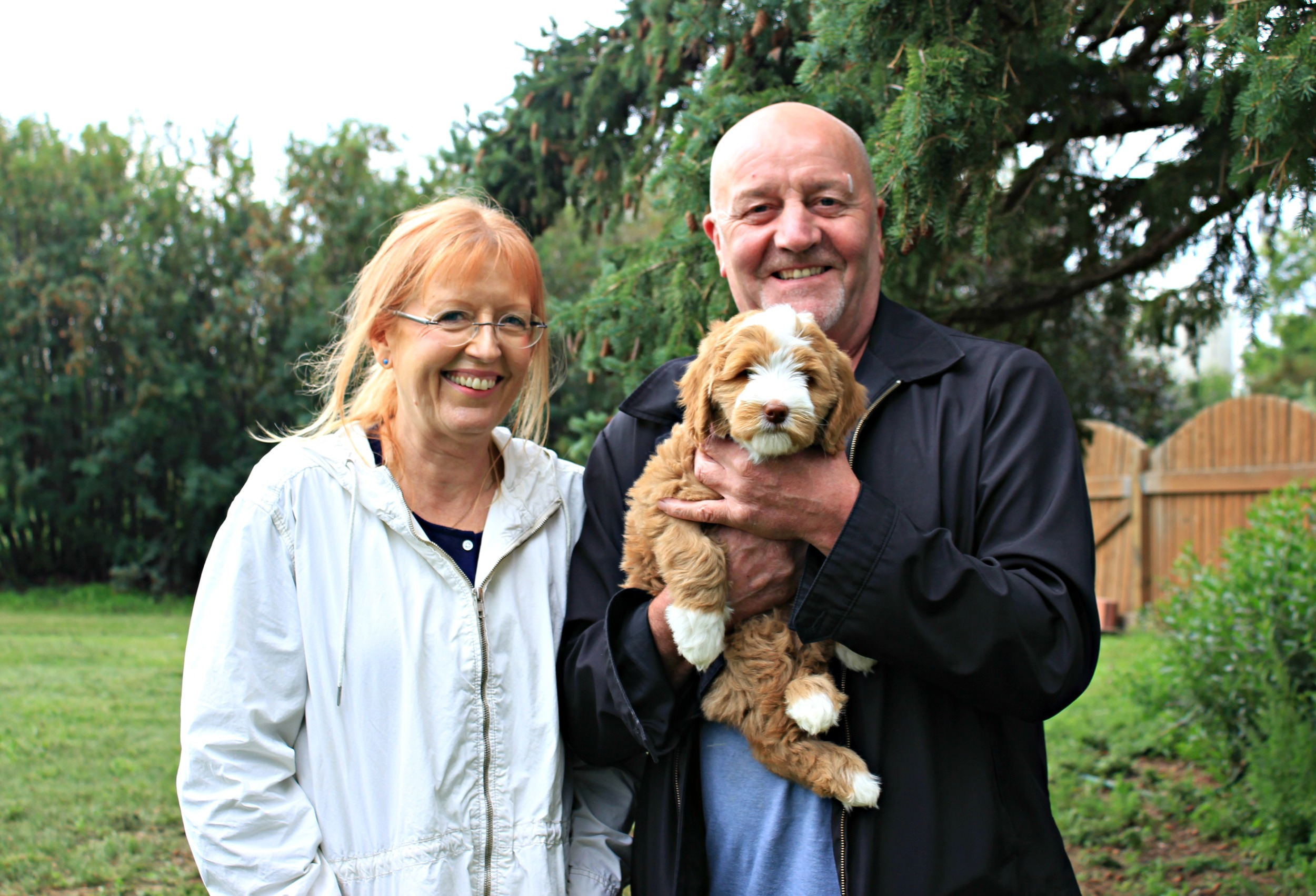 Congratulations to the Slaught/Spence Family and to Molly for finding her forever home!