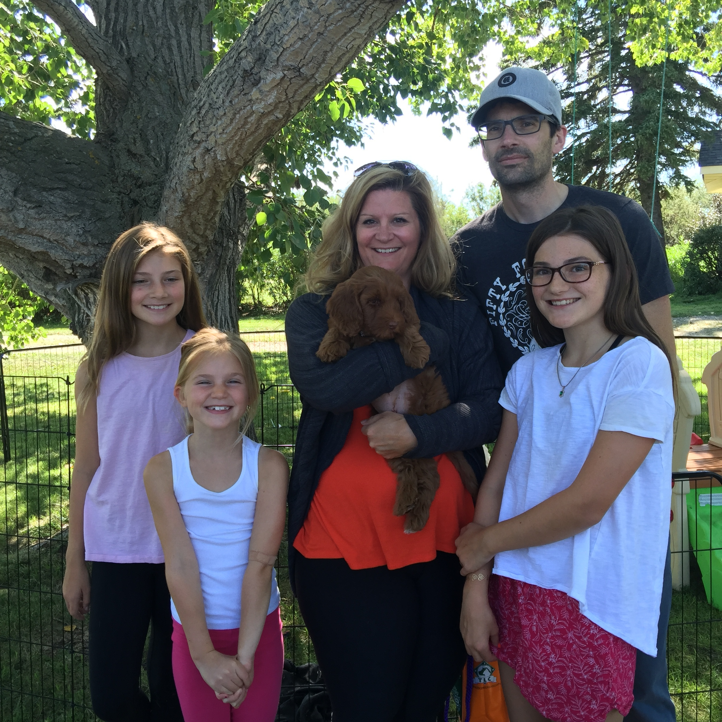 Penny went to her forever home! Congrats to both The Jardine's and Penny!