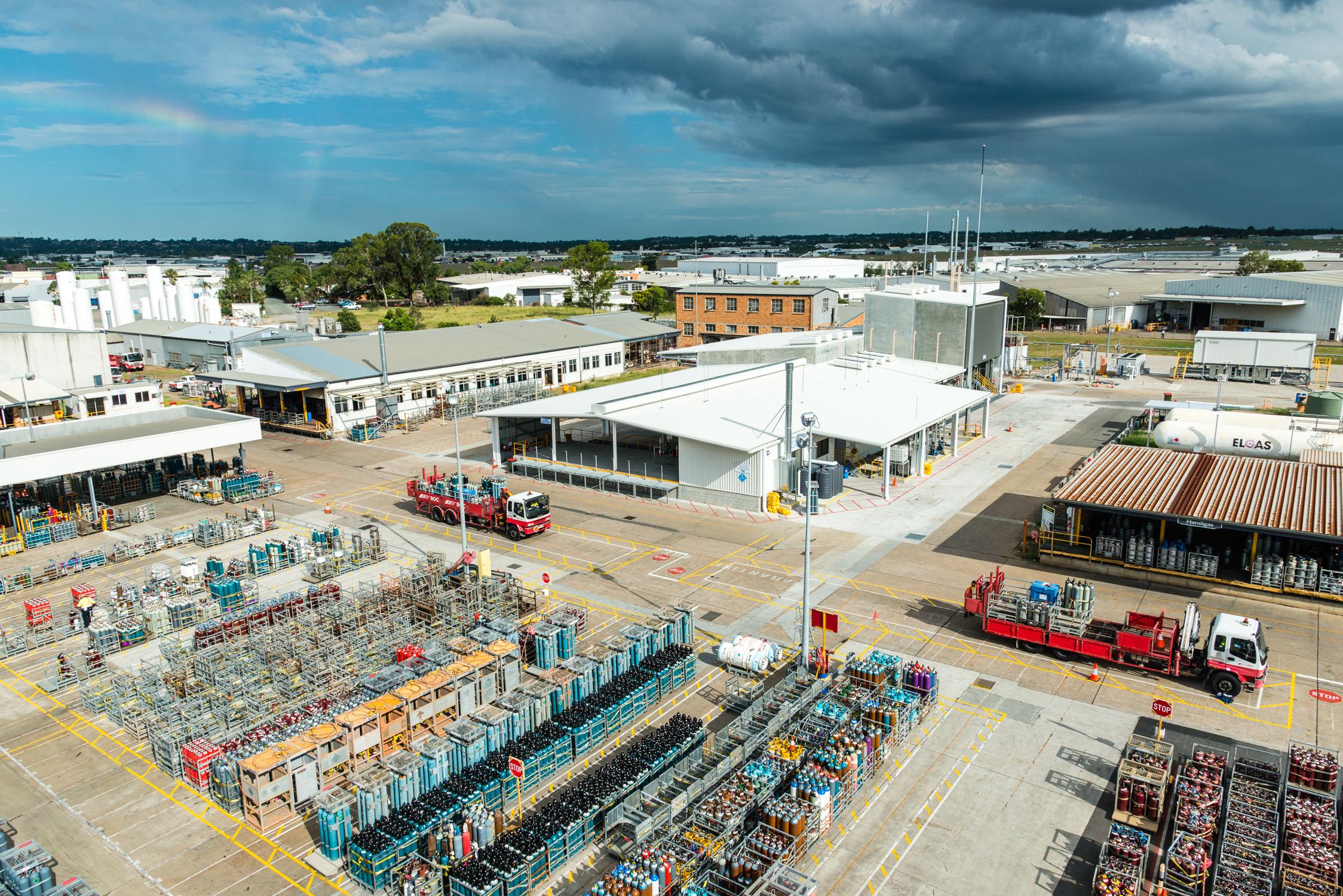 BOC Dissolved Acetylene Plant Rocklea