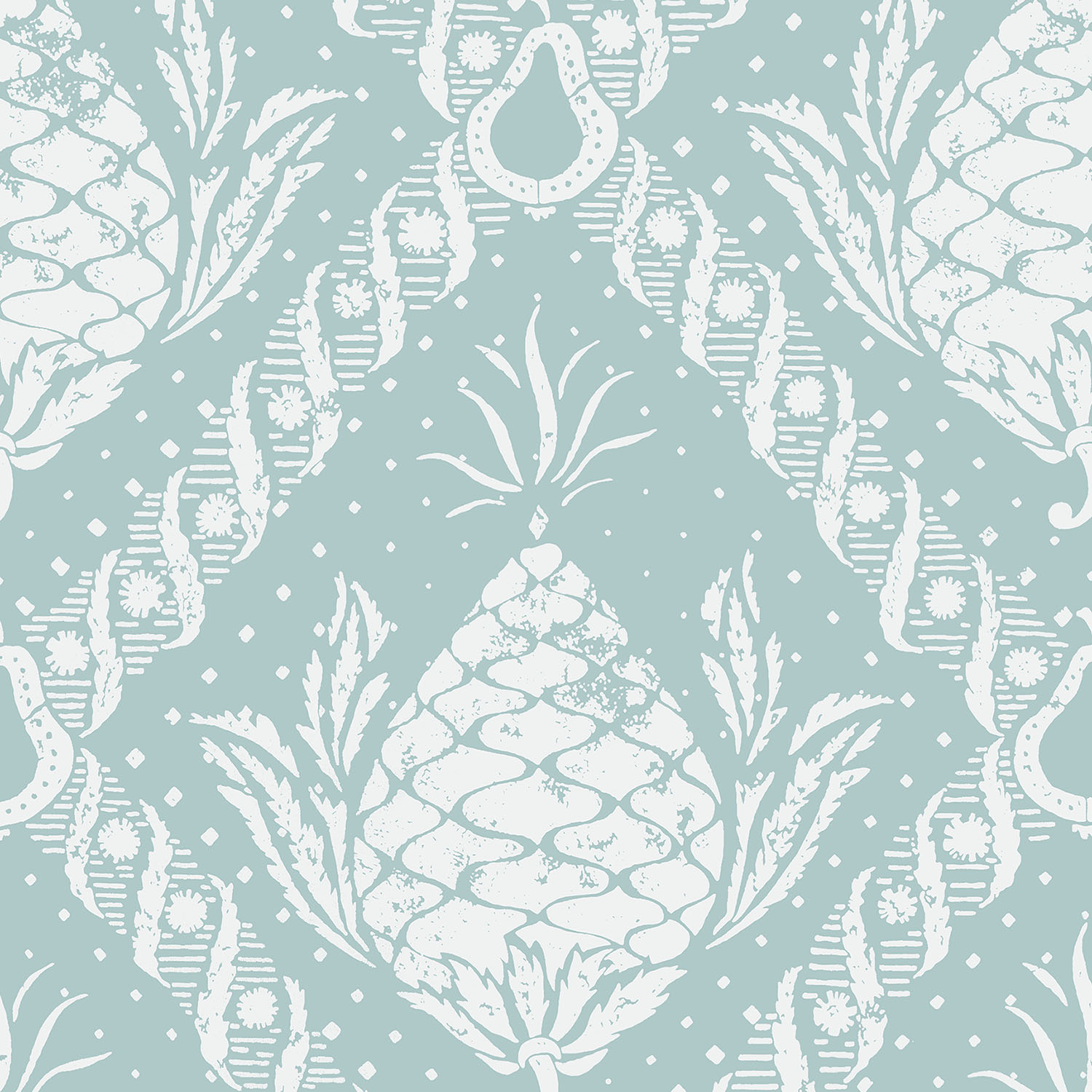 WH 291 Pineapple Damask
