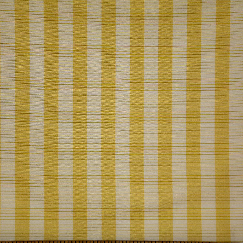 WF-801-05 Gold/ White Silk Check