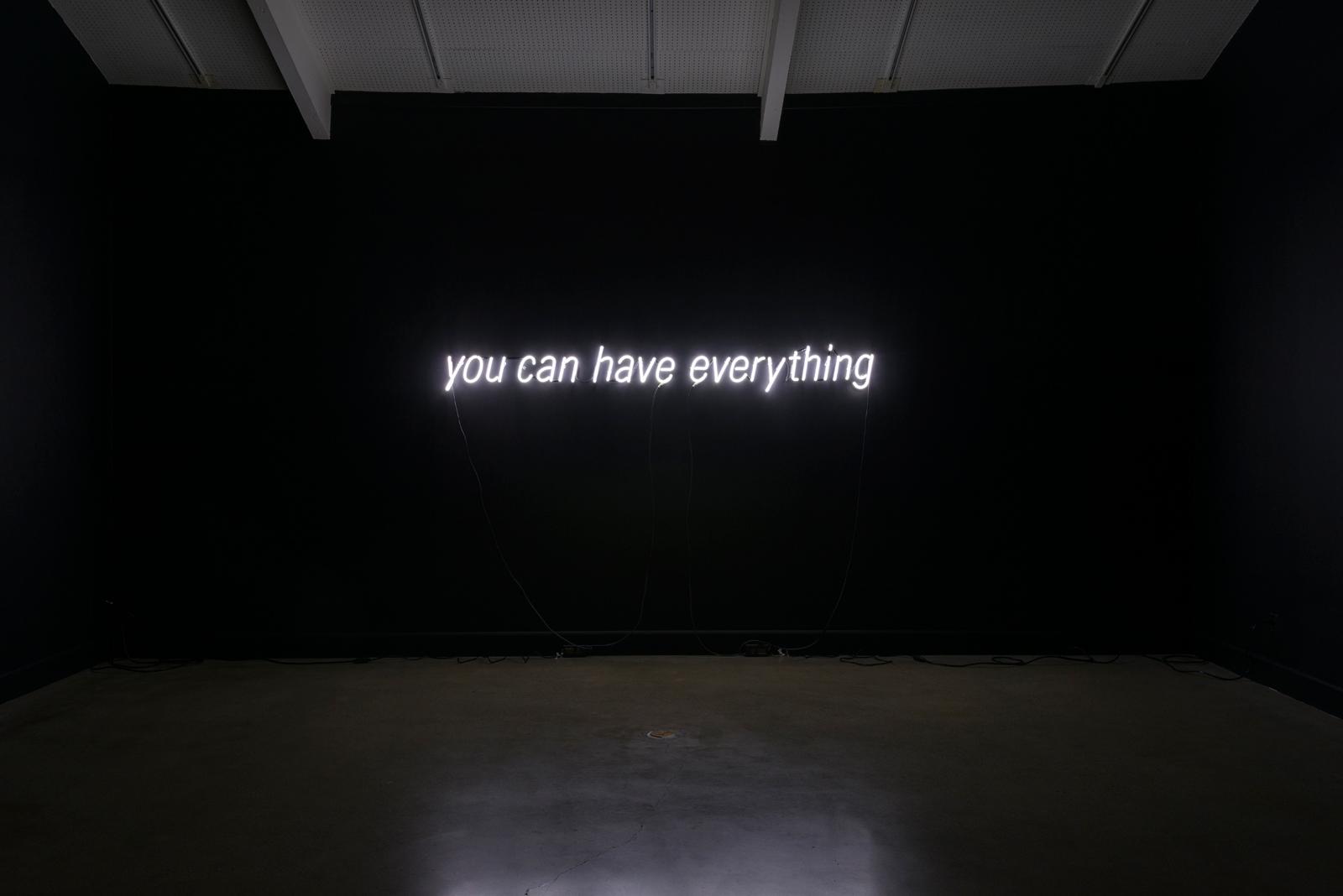 [it's a conceit] , neon, 2015.