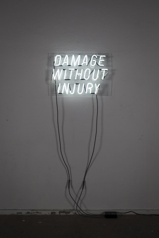 An Apologia,  neon, 2017.