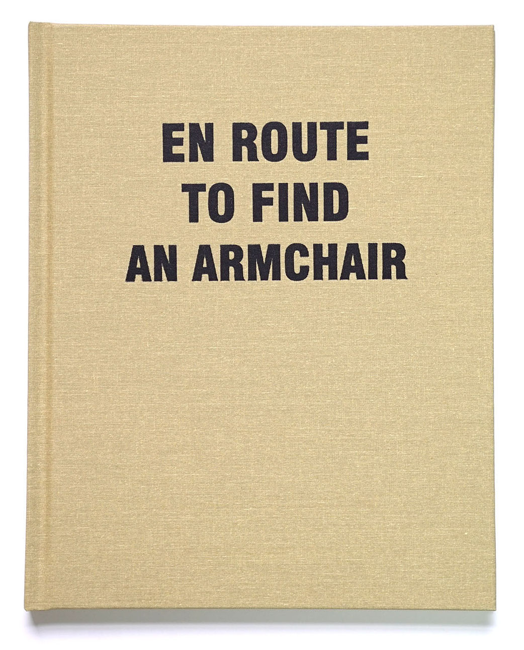En Route to Find an Armchair,  laser-print book, edition 30, 2017.