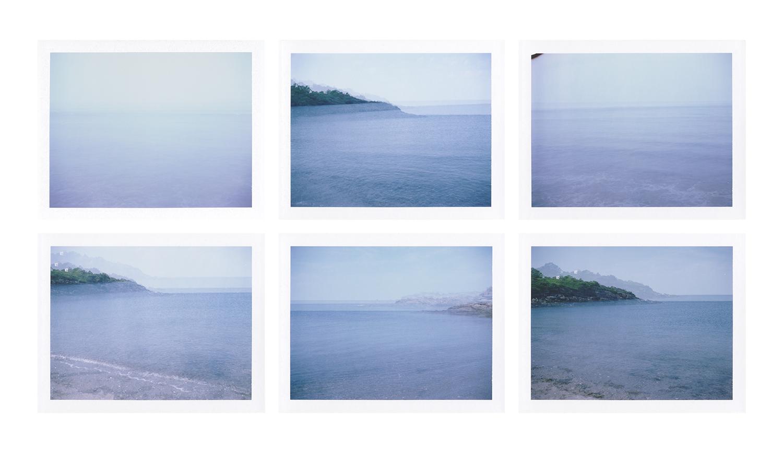 Seasickness (part three) , digital images from FP-100c, 2019.