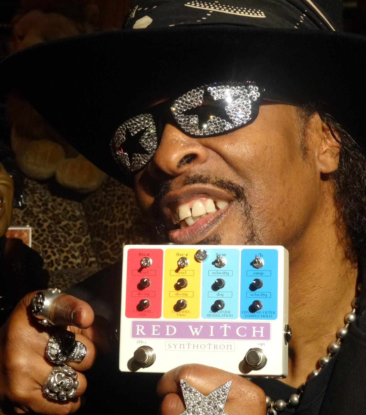 Bootsy Collins<br><font size=1>Bootsy's Rubber Band, James Brown, Funkadelic</font>