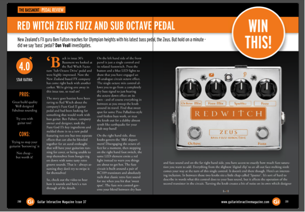 Guitar Interactive - Zeus