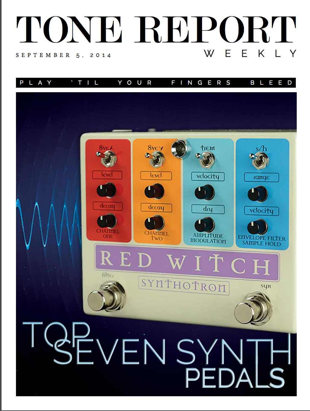Tone Report - Synthotron