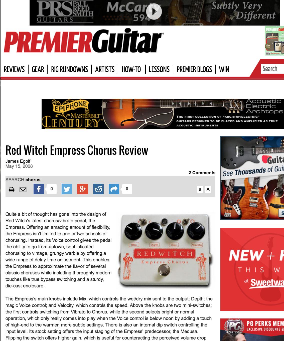 Premier Guitar - Empress Chorus