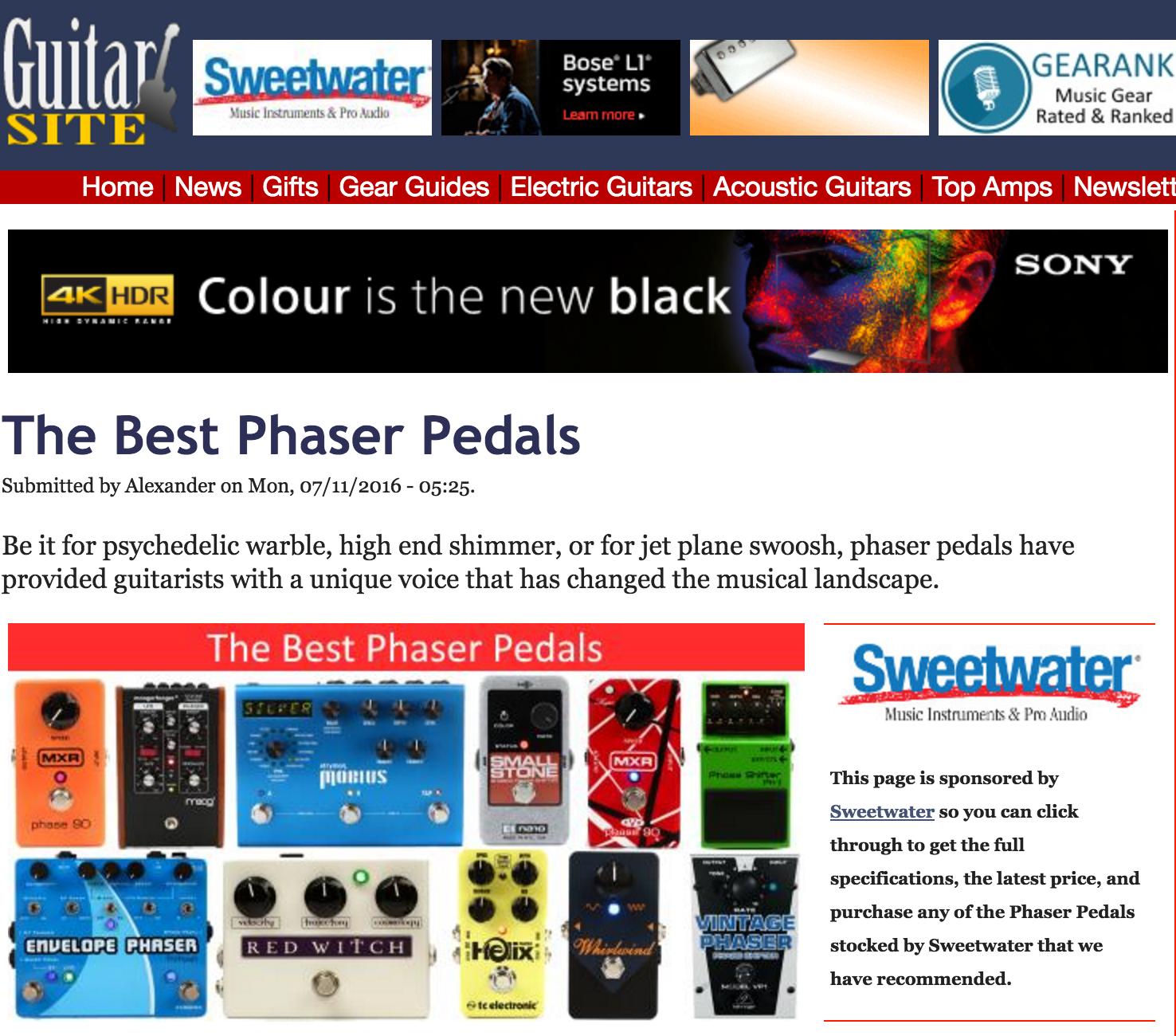 Guitarsite - Dlx Moon Phaser