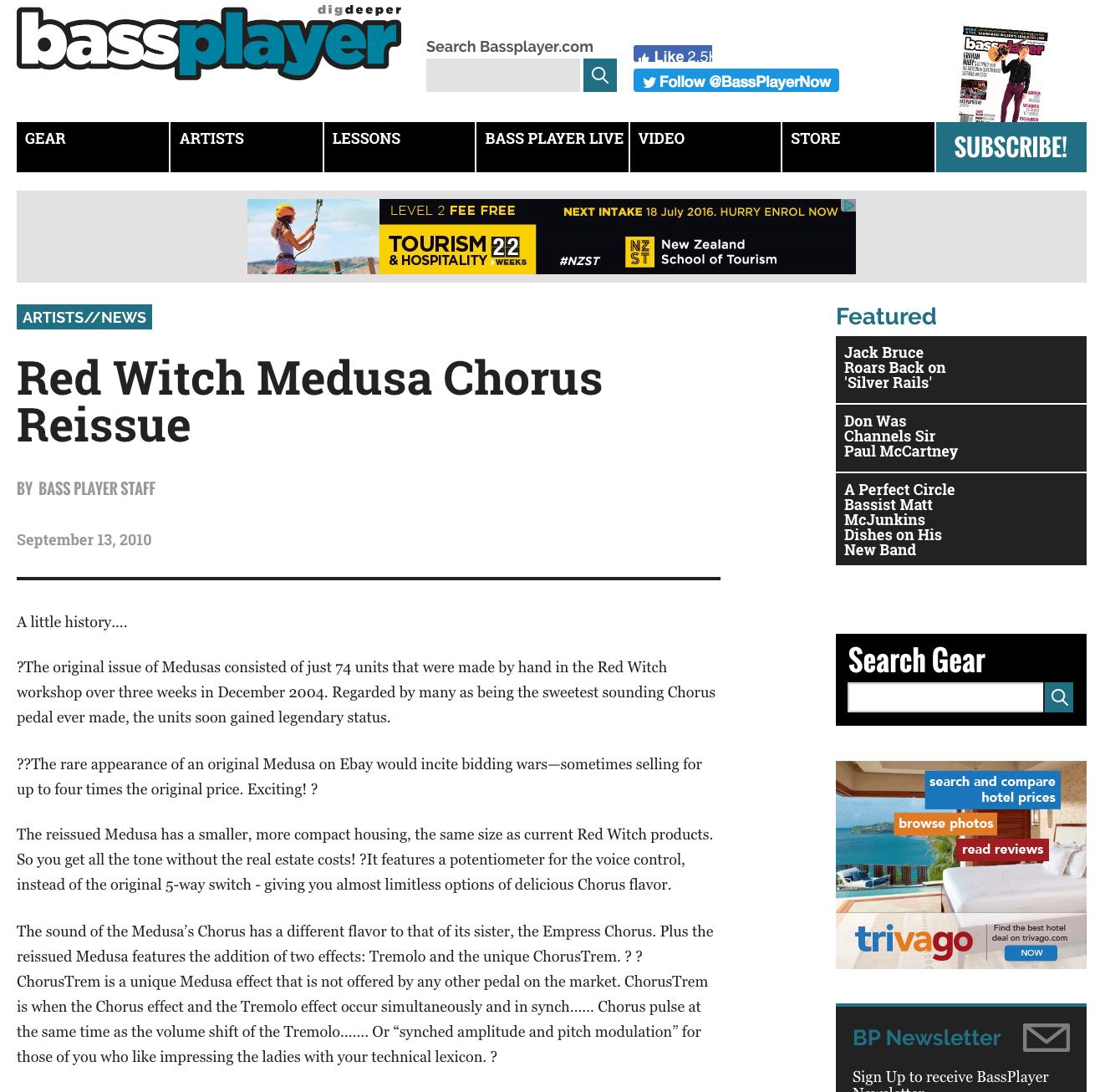 Bass Player - Medusa