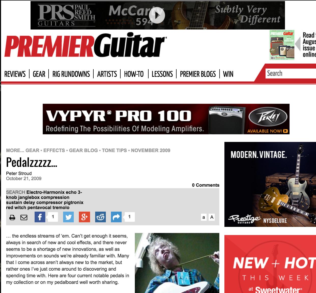 Premier Guitar - Pentavocal Tremolo