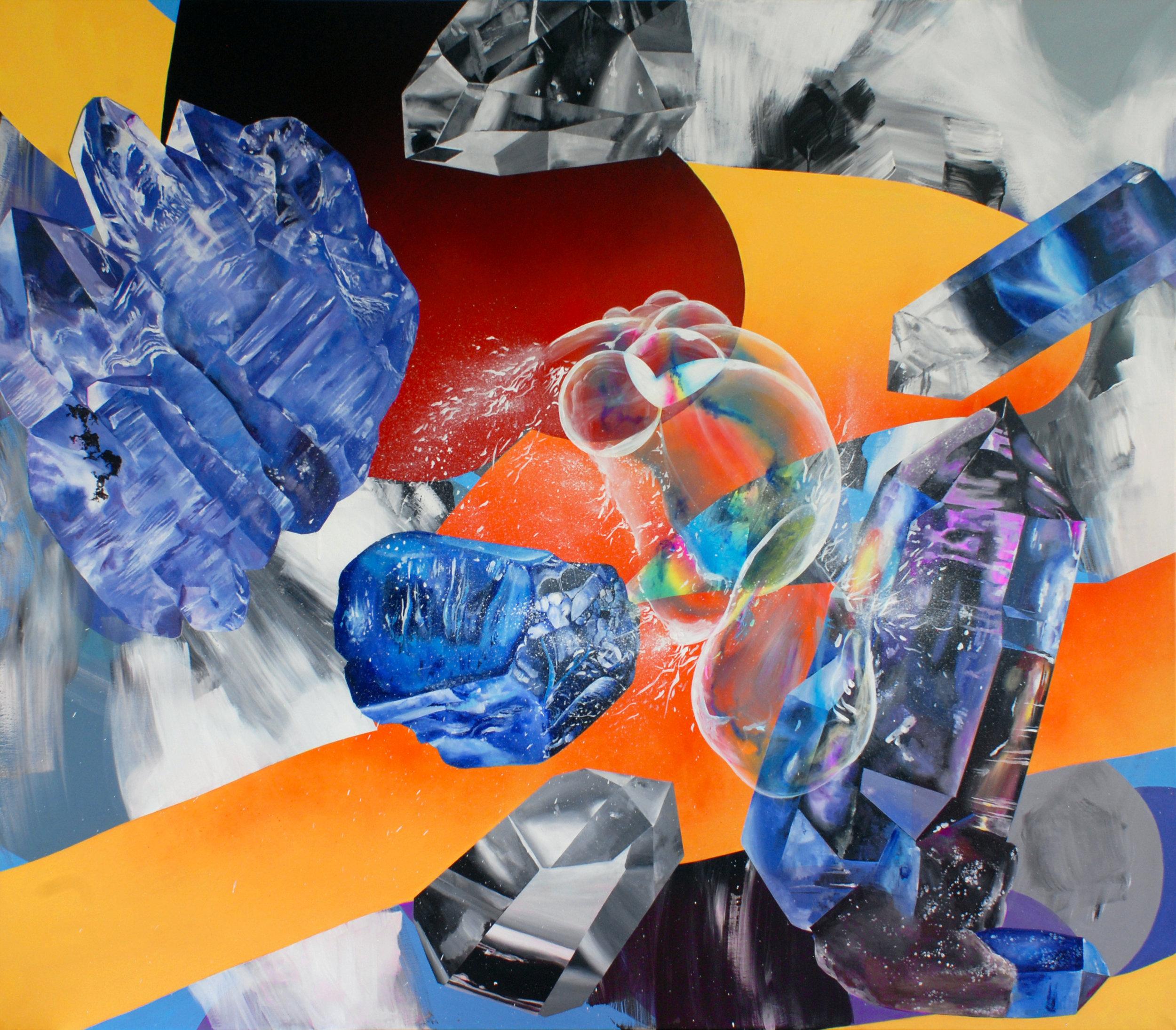 Lucia Horvátová - Egos can be fragile - 2016 - 160x190cm - acrylic on canvas (1).jpg