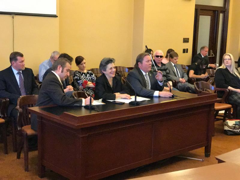 Dan Deuel and Everett Bacon testify in favor of HB 150