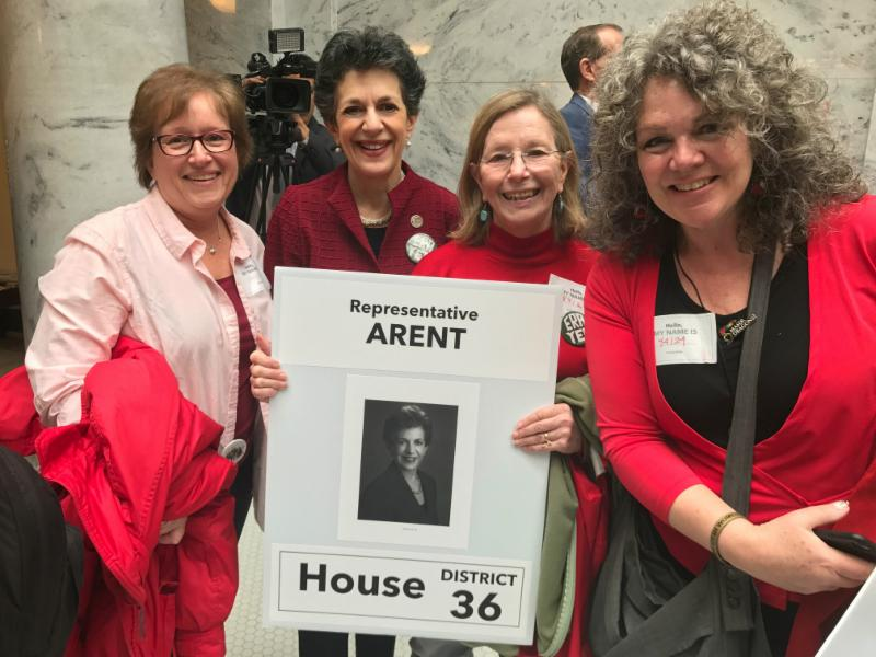 House District 36 constituents visited for International Women's Day