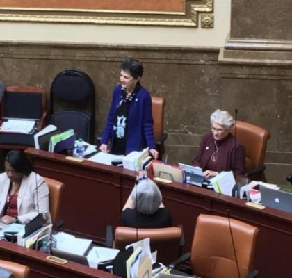 Representative Arent introducing HB16