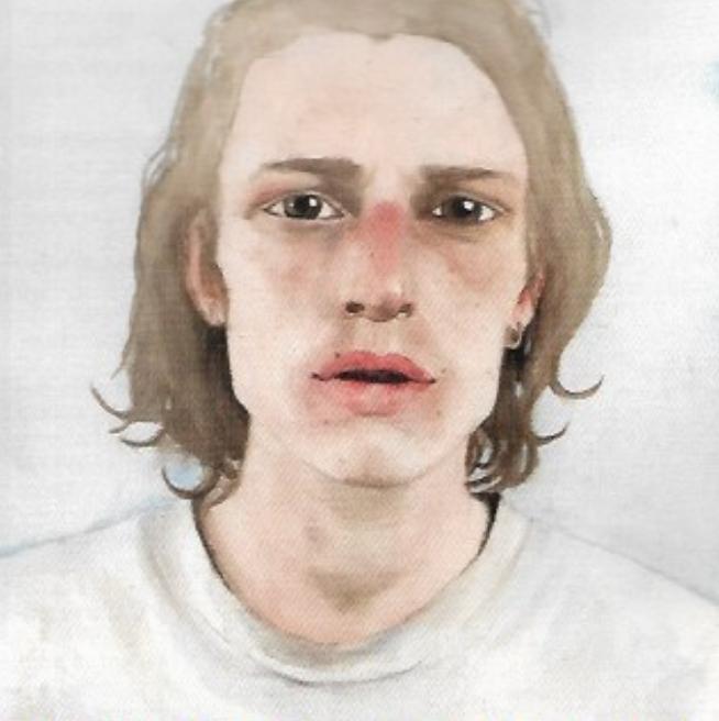 Bailey Willes  Boy  Watercolor  Olympus High School