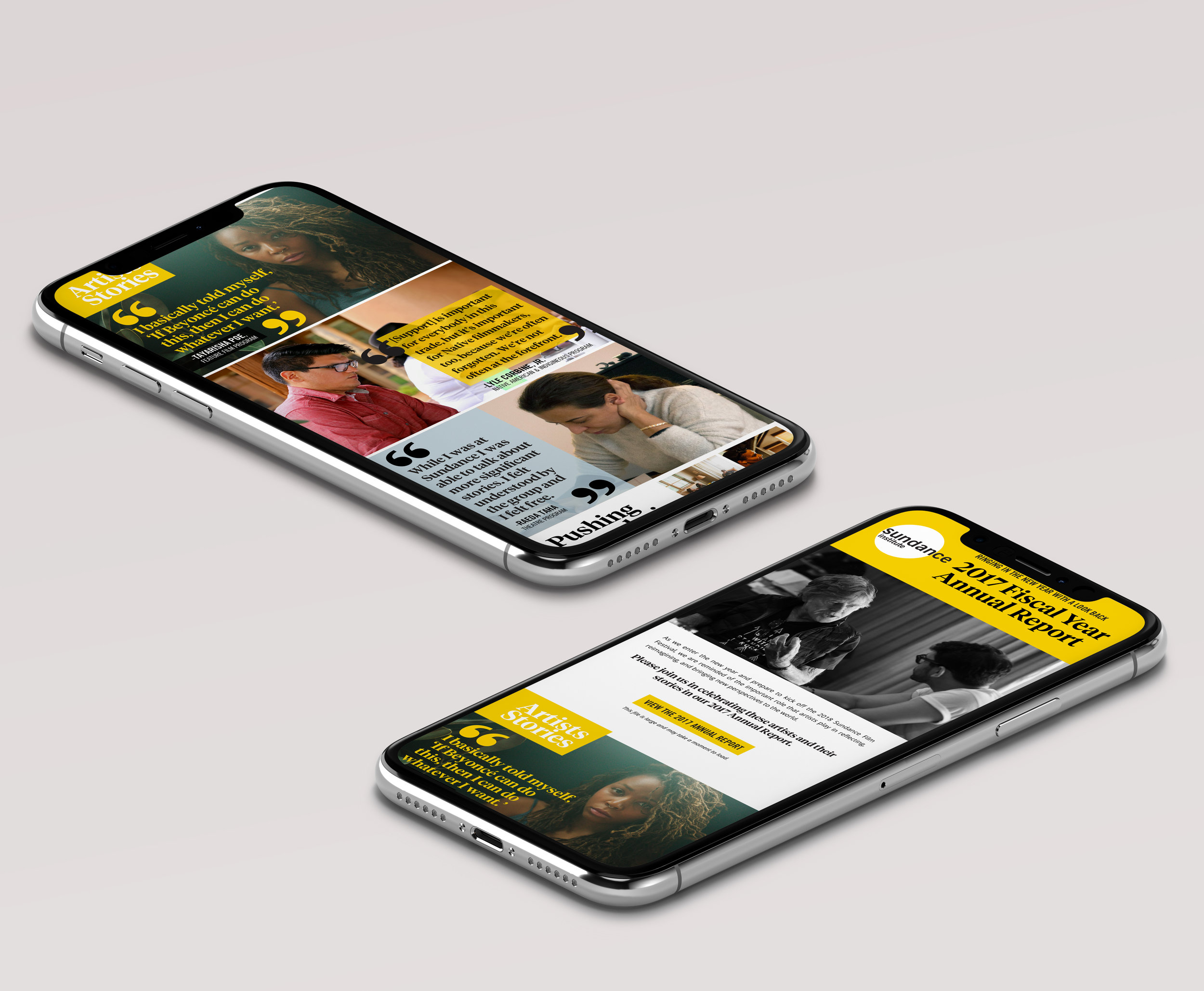 Sundance Emailers, Banners & Social Media Campaign Graphics
