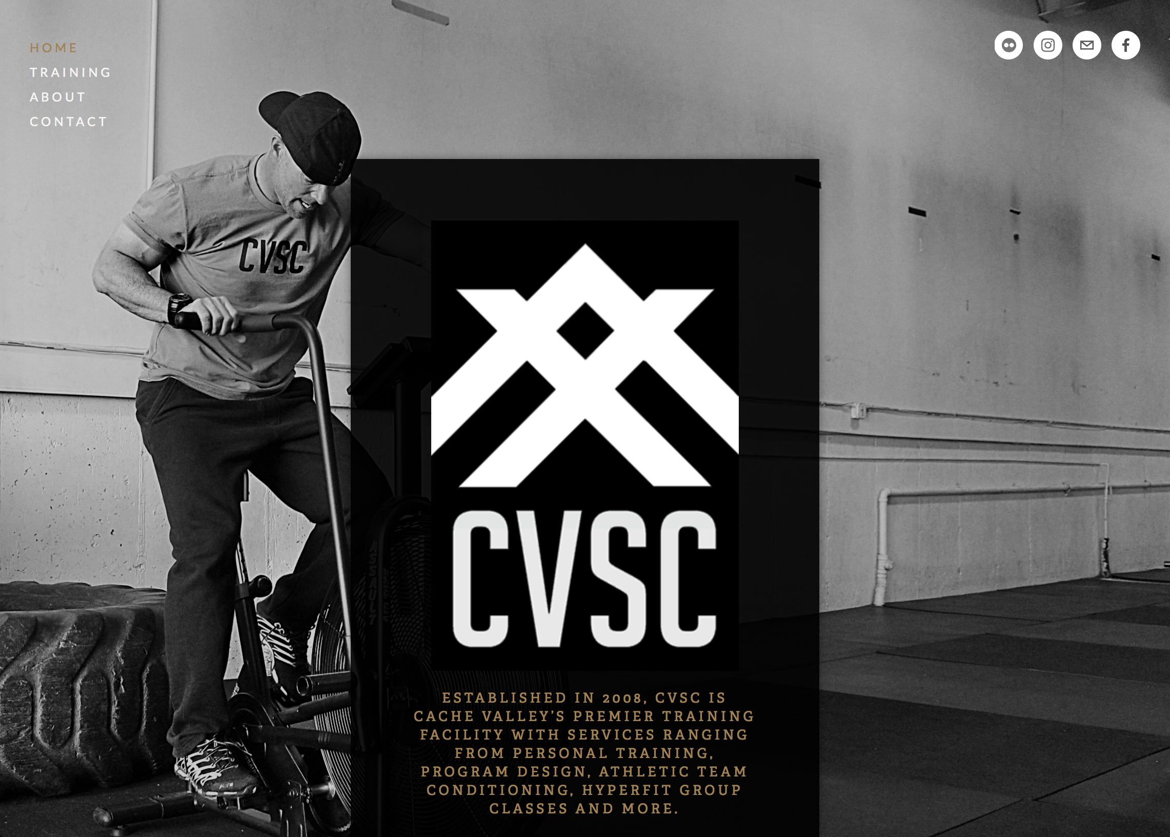 Cache Valley Strength & Conditioning - Web, Apparel & Photography